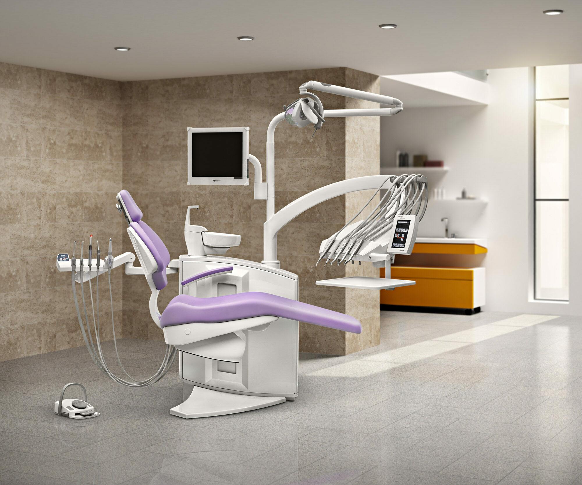 ANCAR SD - 550 Behandlungseinheit Zahnarztstuhl